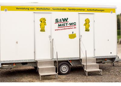 Toilettenwagen Mittel